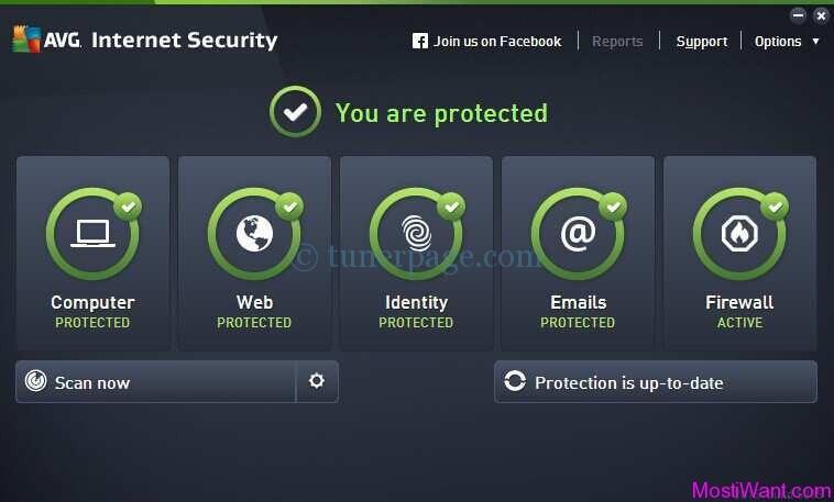 AVG INTERNET SECURITY 2015 এবং AVG PC TUNEUP 2015 সাথে লাইফটাইম সিরিয়াল কি এবং ক্র্যাক ।