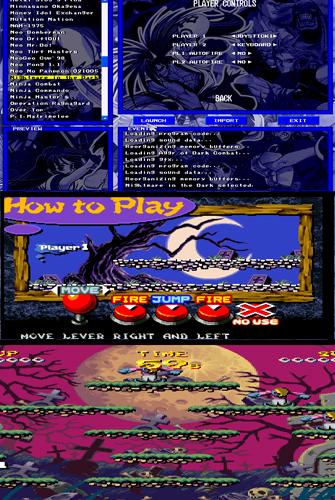 NeoGeo গেম PC এর জন্য ( Nightmare in the dark )